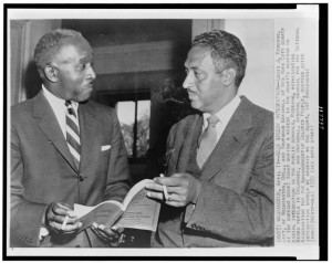 louis redding and thurgood marshall