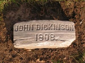 John Dickinson marker